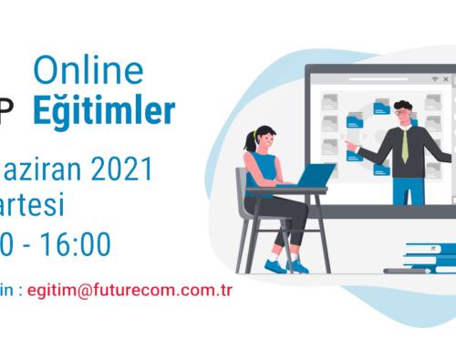 6. Cap Online Eğitimleri 14 Haziran 2021 Pazartesi günü 15:00 – 16:00 arasında devam ediyor.